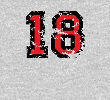 Number Eighteen - No. 18 (two-color) red T-Shirt