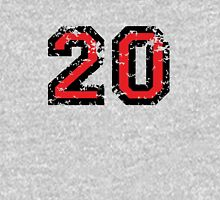 Number Twenty - No. 20 (two-color) red T-Shirt