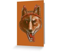 The Spicy Dingo Greeting Card