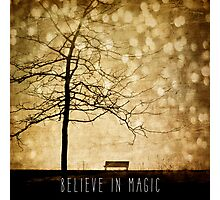 Beleive In Magic Photographic Print