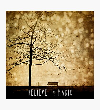 Beleive In Magic Photographic Print