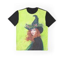 Belladonna on a pretty witches hat Graphic T-Shirt