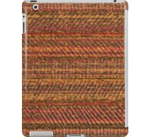 Brown vinyl texture iPad Case/Skin