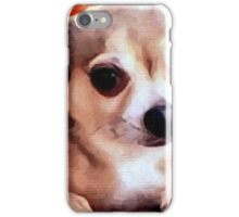 Dexter the Potted Chihuahua -closeup iPhone Case/Skin