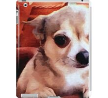 Dexter the Potted Chihuahua -closeup iPad Case/Skin