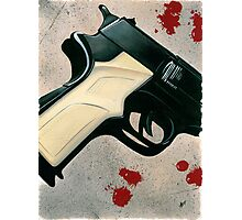 It's All Gun And Games Until Somebody Gets Hurt Photographic Print