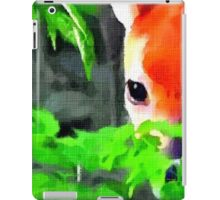 Fawn In Forest (zoom) iPad Case/Skin