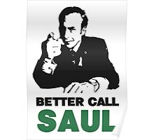 Better Call Saul (White) Poster