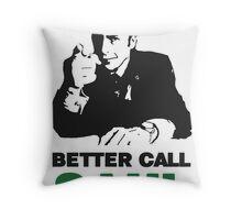 Better Call Saul (White) Throw Pillow