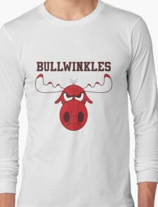 Frostbite Falls Bullwinkles Long Sleeve T-Shirt