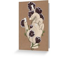 Black Pennies  Greeting Card