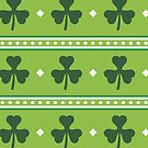 Irish Shamrocks by HolidayT-Shirts