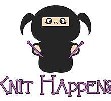 Knit Happens by CraftyGeekette