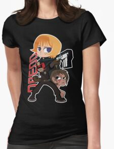 Judge Dredd Versus The World Womens Fitted T-Shirt
