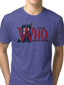 The Legend of Who - Shirt Design Tri-blend T-Shirt