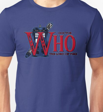 The Legend of Who - Shirt Design Unisex T-Shirt