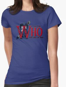 The Legend of Who - Shirt Design Womens Fitted T-Shirt
