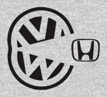 vw eating honda by bestbrothers