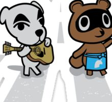 Animals Crossing Sticker