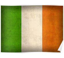 Ireland Flag Poster