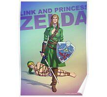 Princess Zelda BADASS Poster
