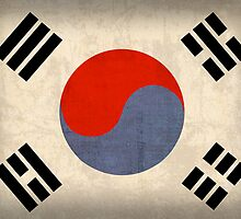 South Korea Flag by flaglover