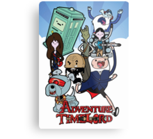 Adventure Time-Lord Generation 12 Metal Print