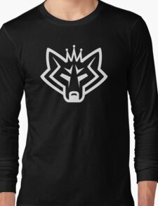 NSL Crown White Wolf Long Sleeve T-Shirt