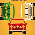 No279 My The Italian Job minimal movie poster by Chungkong