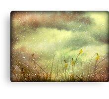 Dreamy Grunge Nature Canvas Print