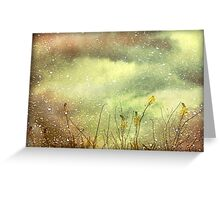 Dreamy Grunge Nature Greeting Card