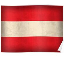 Austria Flag Poster