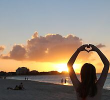 Turks and Caicos Silhouette by kaitlyns-photos
