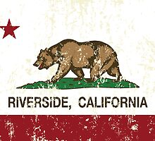 Riverside California Republic Distressed  by NorCal