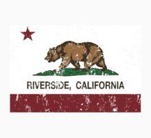 Riverside California Republic Distressed  Kids Tee