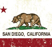 San Diego California Republic Distressed  by NorCal