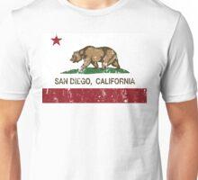 San Diego California Republic Distressed  Unisex T-Shirt
