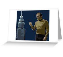 The Original Series: Kirk & Nomad Greeting Card