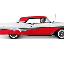 1958 Ford Fairlane 500 Skyliner art photo print by ArtNudePhotos