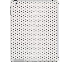 White vinyl texture iPad Case/Skin