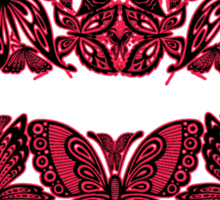 Butterfly Kisses Sticker