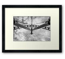 Under The Ferris Wheel Framed Print