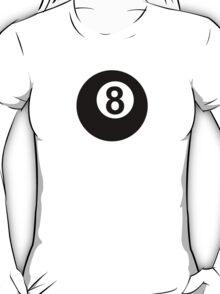Billiards eight 8 ball T-Shirt