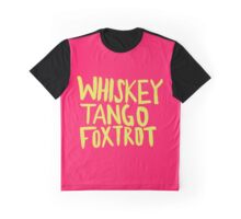 Whiskey Tango Foxtrot - Color Edition Graphic T-Shirt