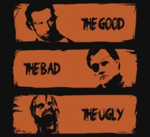 Good Bad and Ugly Walking Dead by ddjvigo