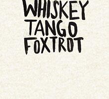 Whiskey Tango Foxtrot Pullover