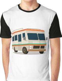 Vintage RV camper cartoon Graphic T-Shirt
