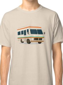 Vintage RV camper cartoon Classic T-Shirt