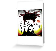 Samold Basquiat Greeting Card