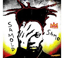 Samold Basquiat Photographic Print